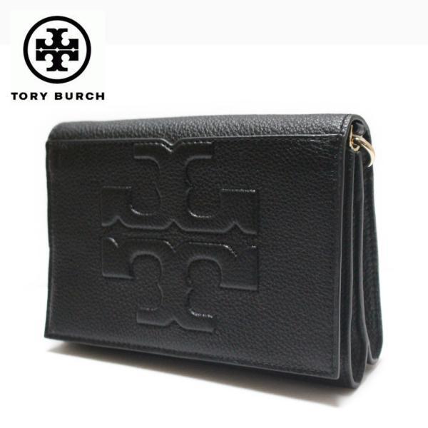 トリーバーチ バッグ ショルダーバッグ Tory Burch Bombe T Combo Cross Body Clutch Bag