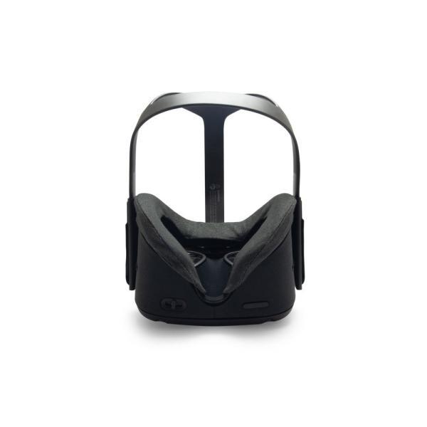 VRカバー Oculus Quest用 ノーマルタイプ2枚セット 綿100% 濃紺色 洗濯可能|moguravrstore|03