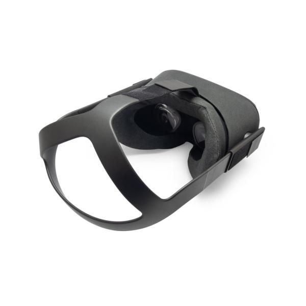 VRカバー Oculus Quest用 ノーマルタイプ2枚セット 綿100% 濃紺色 洗濯可能|moguravrstore|04