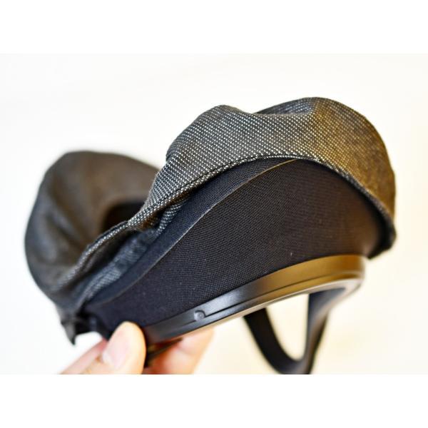 VRカバー Oculus Quest用 ノーマルタイプ2枚セット 綿100% 濃紺色 洗濯可能|moguravrstore|06