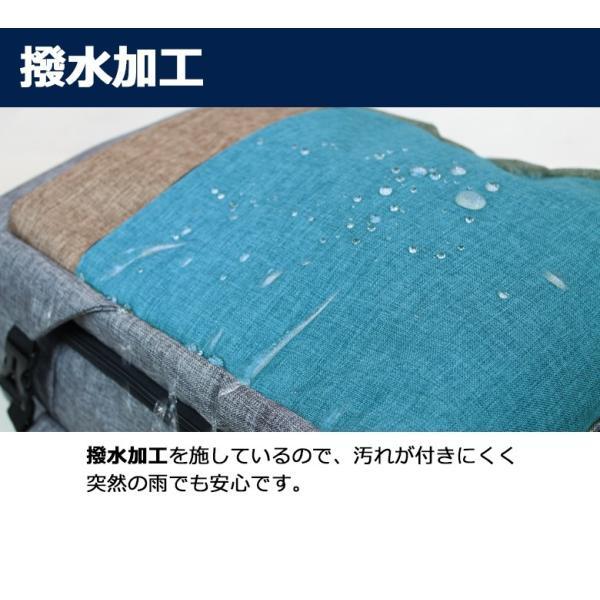 キャリーバッグ 機内持ち込み 軽量 スーツケース キャスター付き リュック ソフトキャリーバッグ ソフトスーツケース 防災 避難 非常用|moierg|13