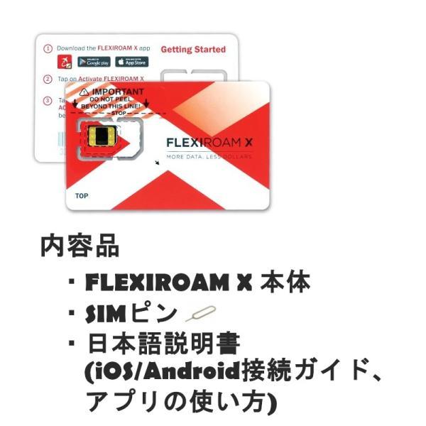 海外 プリペイドSIM カード 格安 1Gで420円〜 日本でもそのまま使える 世界120ヵ国対応 貼るSIM 旅行 ビジネス FLEXIROAMX|mokku-shop|11