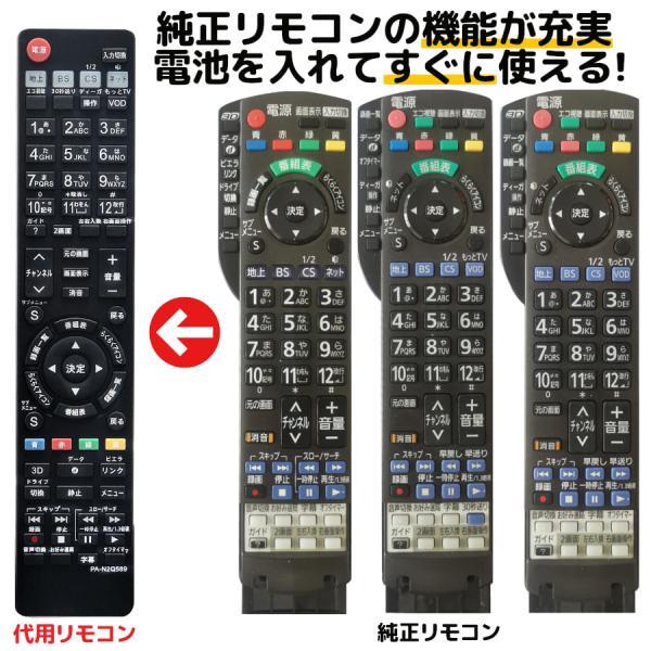 パナソニックテレビリモコンビエラN2QAYB000589N2QAYB000733N2QAYB000732PanasonicVie