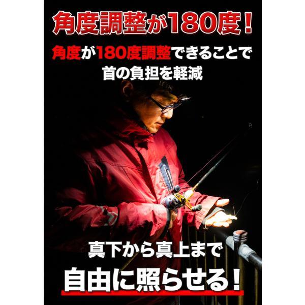 ヘッドライト 充電式 LED ヘッドランプ 釣り 登山 最強ルーメン アウトドア キャンプ 登山 センサー LEDヘッドライト DIY、工具 moko2 04