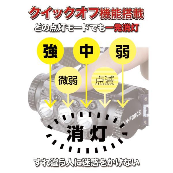 ヘッドライト 充電式 LED ヘッドランプ 釣り 登山 最強ルーメン アウトドア キャンプ 登山 センサー LEDヘッドライト DIY、工具 moko2 09
