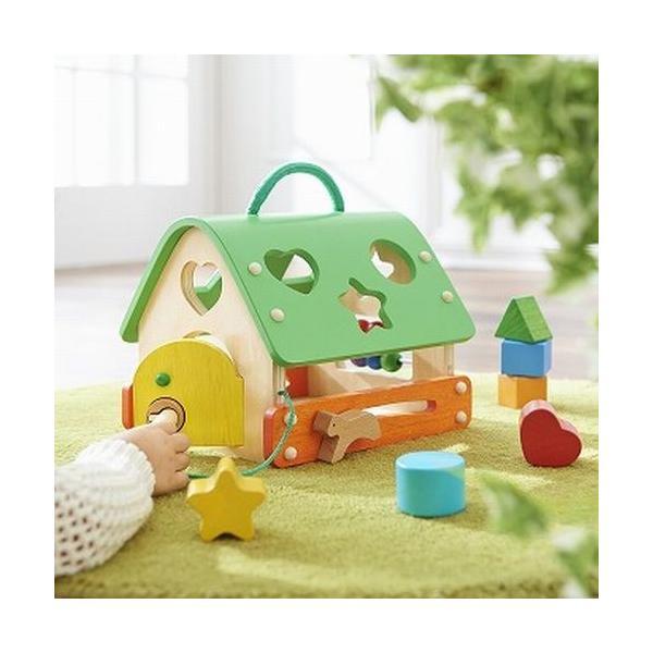 あそびのおうち エド・インター おもちゃ 知育玩具 木のおもちゃ 出産祝い 1歳 2歳 誕生日 プレゼント|mokuguru