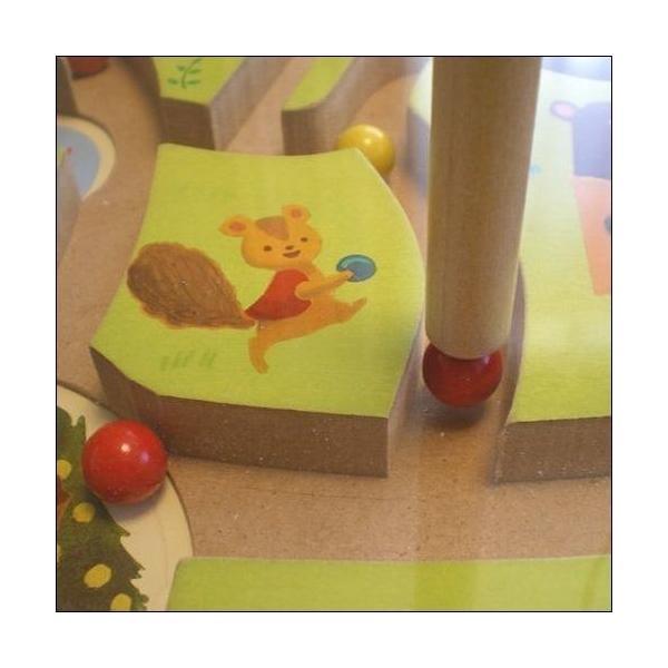 ベリーくんのきのみやさん 絵本 木のおもちゃ 知育玩具 2歳 3歳 4歳 誕生日 プレゼント|mokuguru|02