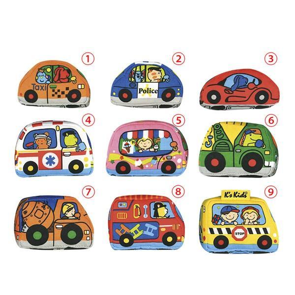 カーズ・イン・タウン ケーズキッズ 車 布おもちゃ 出産祝い 1歳 2歳 誕生日 プレゼント|mokuguru|03