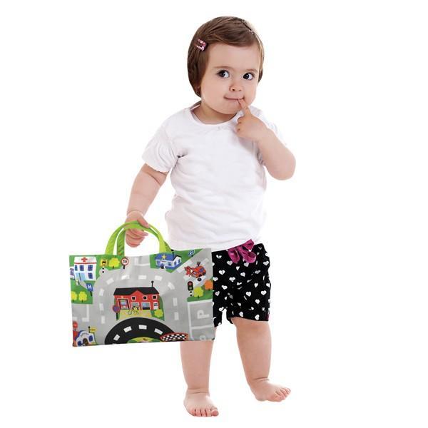 カーズ・イン・タウン ケーズキッズ 車 布おもちゃ 出産祝い 1歳 2歳 誕生日 プレゼント|mokuguru|05