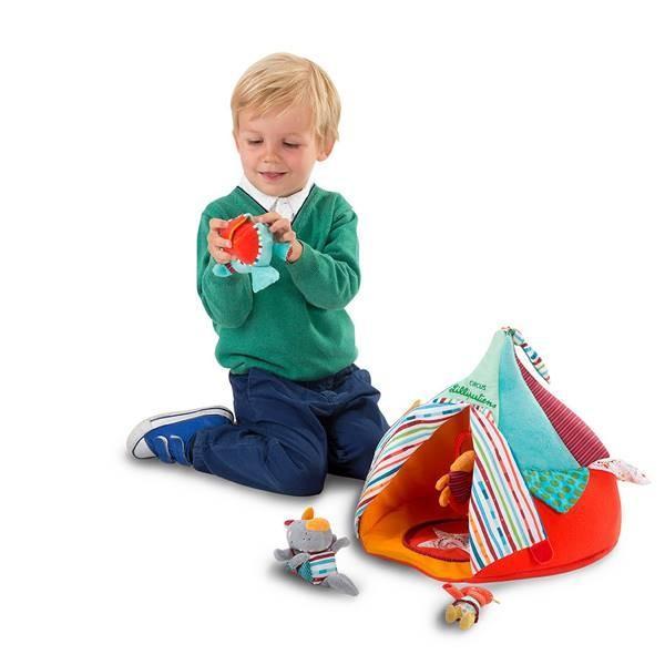 リリピュション サーカスハウス 布のおもちゃ 出産祝い 1歳 2歳 3歳 誕生日 プレゼント|mokuguru|03