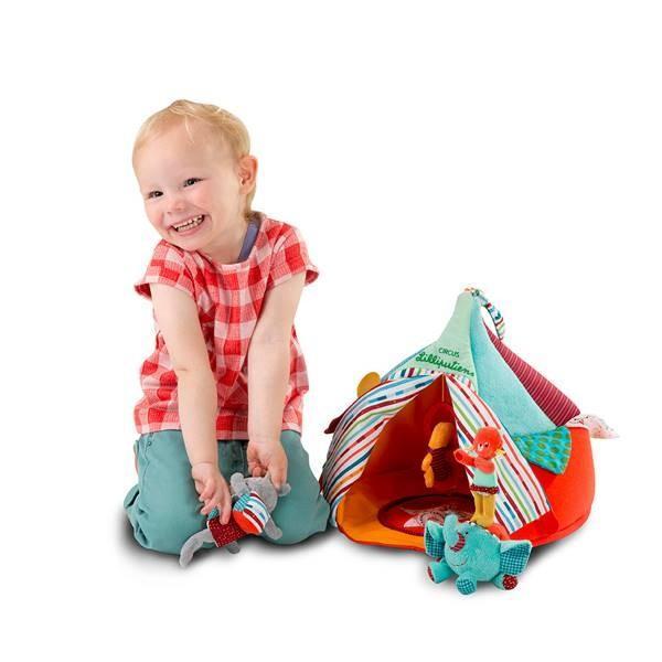 リリピュション サーカスハウス 布のおもちゃ 出産祝い 1歳 2歳 3歳 誕生日 プレゼント|mokuguru|05