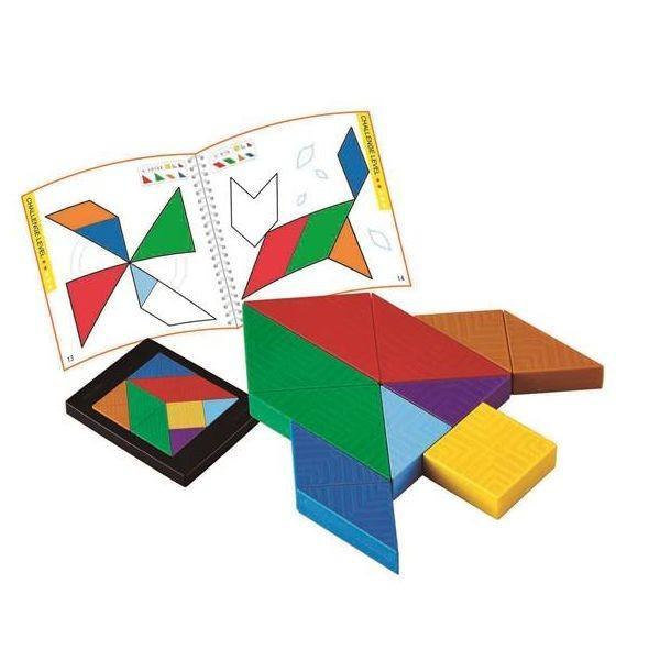 脳力タングラム パズル 知育玩具 3歳 4歳 5歳 誕生日 プレゼント|mokuguru