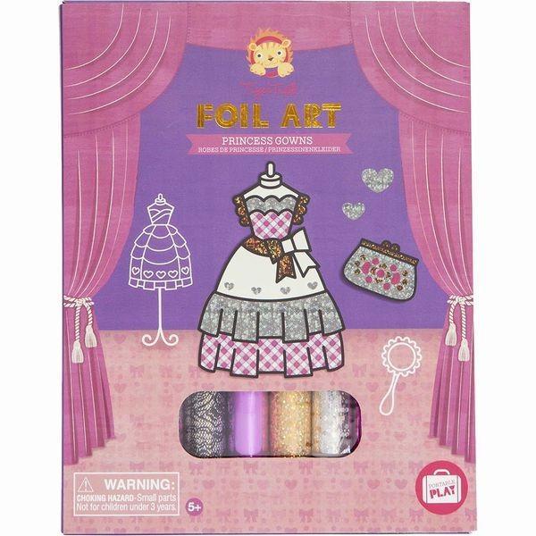 おもちゃ知育玩具工作女の子5歳6歳7歳誕生日プレゼントホイルアートプリンセス