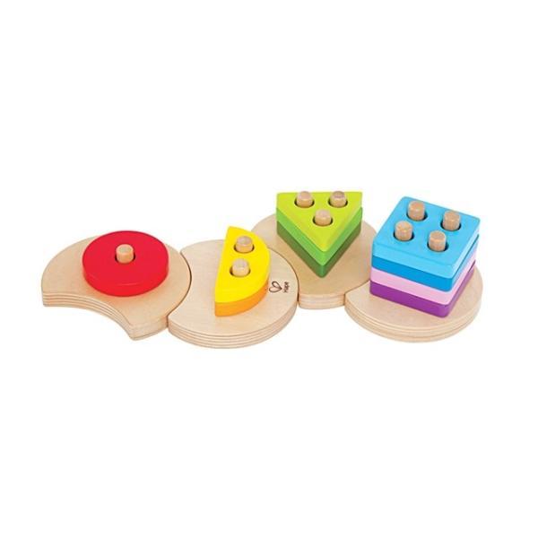 ジオメトリックソーター 図形 パズル 知育玩具 2歳 3歳 誕生日 クリスマス プレゼント|mokuguru|03