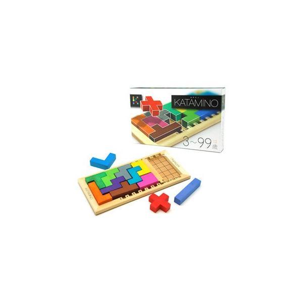 カタミノ KATAMINO 学習ハンドブックつき 脳トレ パズル 知育玩具 ギガミック ボードゲーム|mokuguru