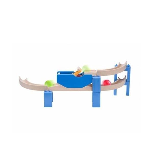 トリックストラック スパイラルコースター 玉転がし スロープ おもちゃ 3歳 4歳 5歳 誕生日 プレゼント|mokuguru|03