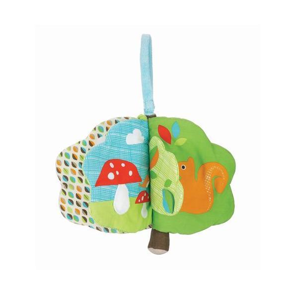 布絵本 ツリートップフレンズ・ソフトブック  出産祝い 赤ちゃん 1歳 誕生日プレゼント|mokuguru