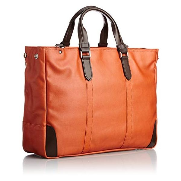 EVERWINエバウィン ビジネスバッグ 日本製 撥水加工 21598 オレンジ|mokus|02