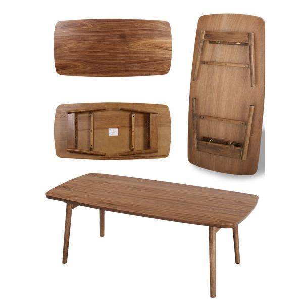 Tomte トムテ フォールディングテーブル TAC-229WAL 机 ローテーブル 折りたたみ式テーブル 折れ脚 木製 北欧|mollif|03