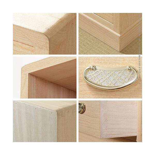 総桐収納箪笥 6段 井筒(いづつ) 桐タンス 桐たんす 着物 収納|momoda|02