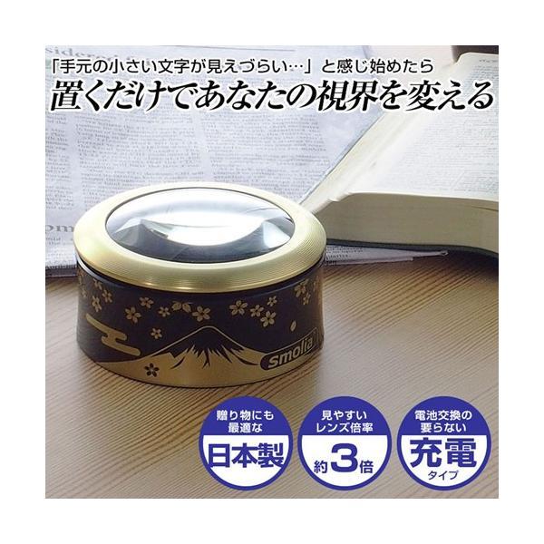 スリーアールソリューション LED拡大鏡smoliaFUJI 3R-SMOLIA-FUJI