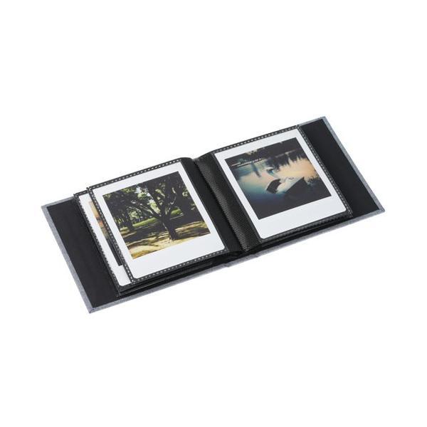 エツミ フォトアルバム エポカ チェキスクエア対応 20枚用 グレーVE-5500