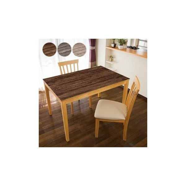 TABLECLOTH DECORATION テーブルデコレーション 貼る!テーブルシート 90cm×150cm エイジウッド