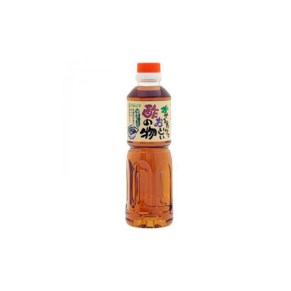マルシマ かけるだけでおいしい酢の物酢 ペットボトル 500mL×3本 1710 代引き不可