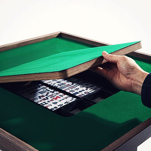 麻雀卓 モダンスタイル マージャン テーブル DDS490-BR ロースタイル コーヒーテーブル インテリア家具 テーブルゲーム 麻雀|momoda|11