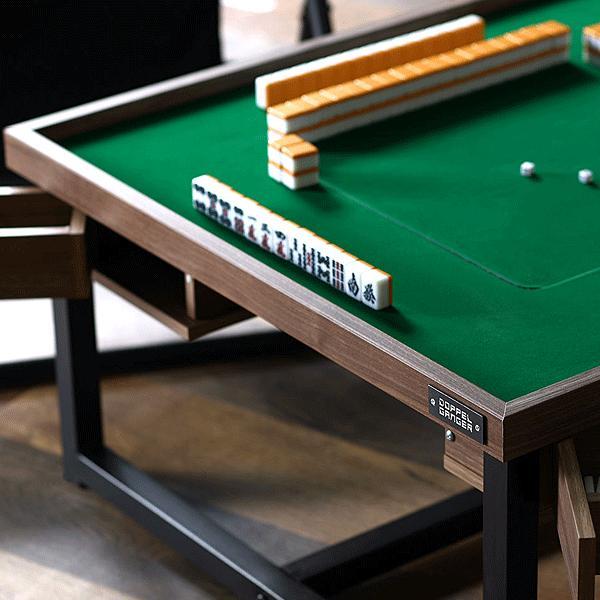 麻雀卓 モダンスタイル マージャン テーブル DDS490-BR ロースタイル コーヒーテーブル インテリア家具 テーブルゲーム 麻雀|momoda|04