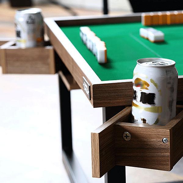麻雀卓 モダンスタイル マージャン テーブル DDS490-BR ロースタイル コーヒーテーブル インテリア家具 テーブルゲーム 麻雀|momoda|09