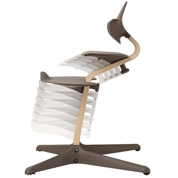 ノミ・ハイチェア エボムーブ Nomi Highchair evomove 赤ちゃん椅子 ベビーチェア ダイニング 子供椅子 子ども イス グローアップ|momoda|04