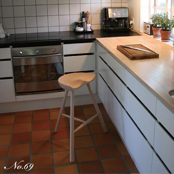 シューメーカーチェア スツールNo.49 無塗装 Shoemaker Werner 北欧 デンマーク ワーナー社|momoda|06