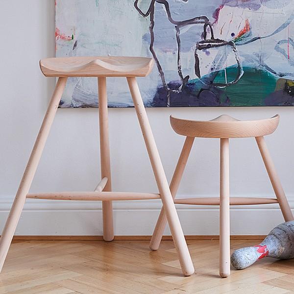 シューメーカーチェア スツールNo.49 無塗装 Shoemaker Werner 北欧 デンマーク ワーナー社|momoda|10