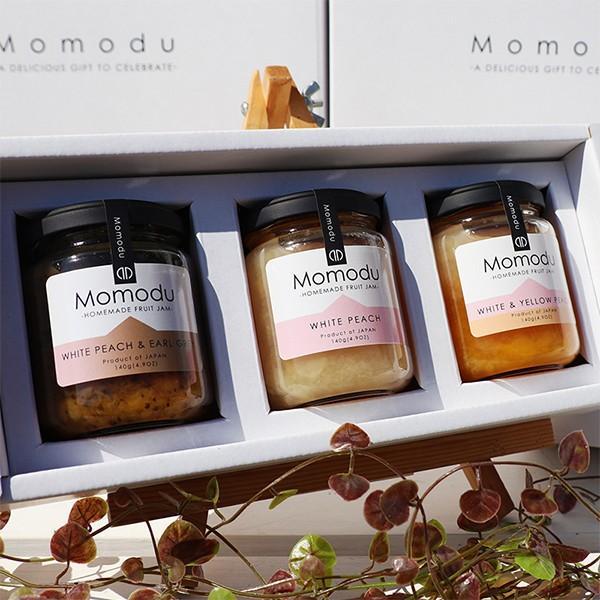 Momodu ギフトセット(ジャム3個入り) 140g×3個|momodu-store|02