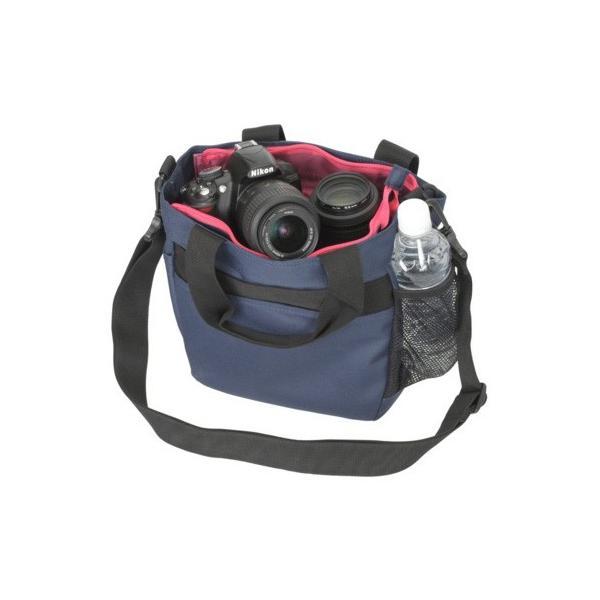 送料無料Coleman コールマン カメラトートバッグ ネイビー CO-8704
