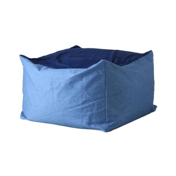 送料無料ワンズコンセプト 体にフィットするソファ Snooze ブルー 60×60×40cm 300865