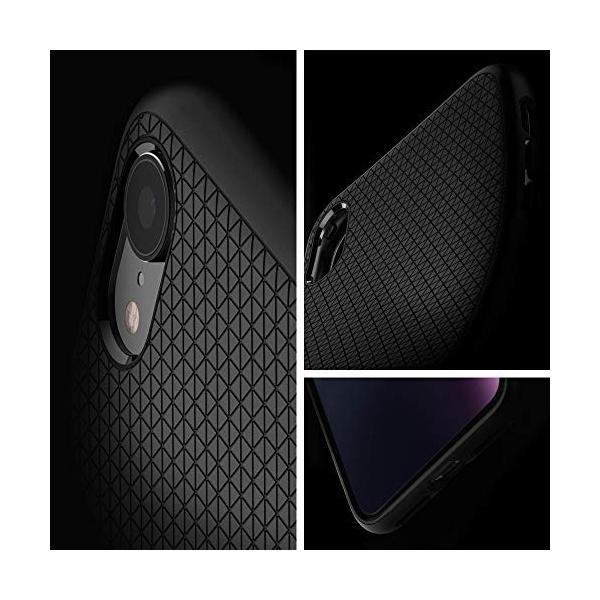 【Spigen】 スマホケース iPhone XR ケース 6.1インチ 対応 TPU 米軍MIL規格取得 保護力 衝撃吸収 リキッド・エアー 064CS24872 (マット・ブラック) momos-shop 04