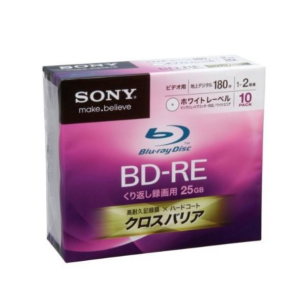 SONY ビデオ用BD-RE 書換型 片面1層25GB 2倍速 プリンタブル 10枚P 10BNE1VCPS2|momotarou-store|02