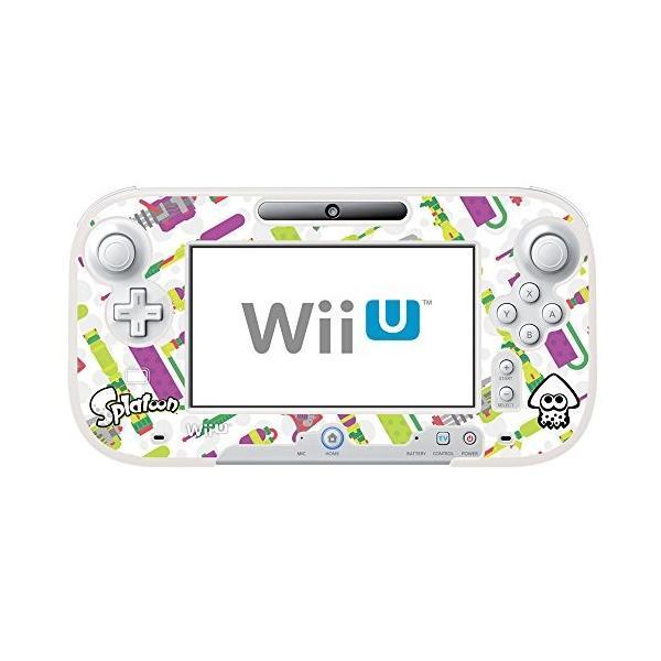 スプラトゥーン イカしたプロテクトケース for Wii U GamePad HORI(WIU-099)の画像