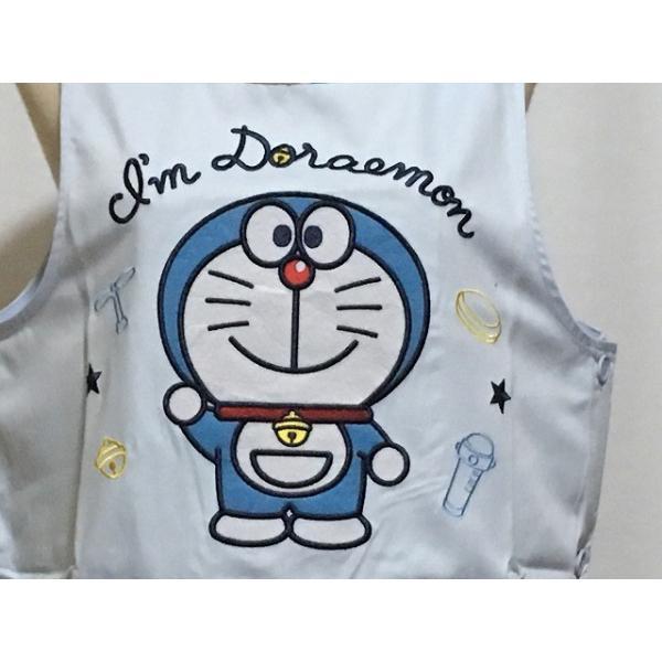 おしゃれキャラクターエプロン ドラえもん ラン型チェック 654591 藤子プロ|momoyamatomiko|05