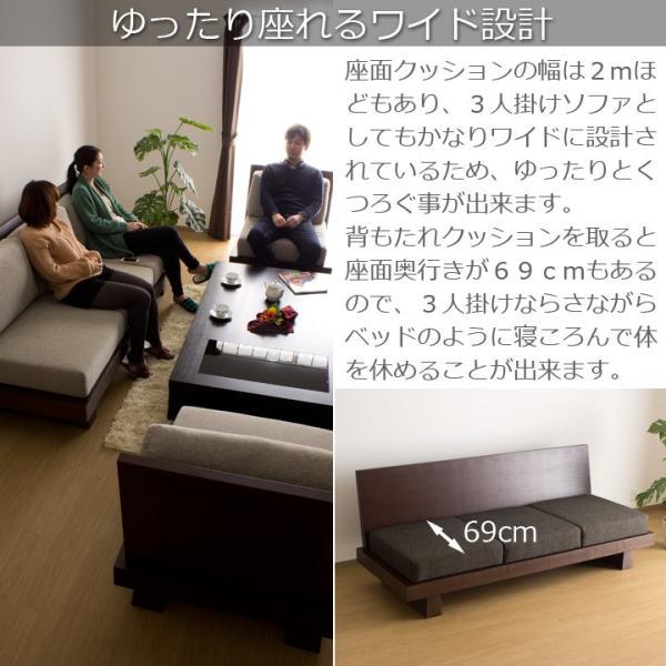 ソファ 3人掛け Hida 北欧 ミッドセンチュリー カフェ|momu|04