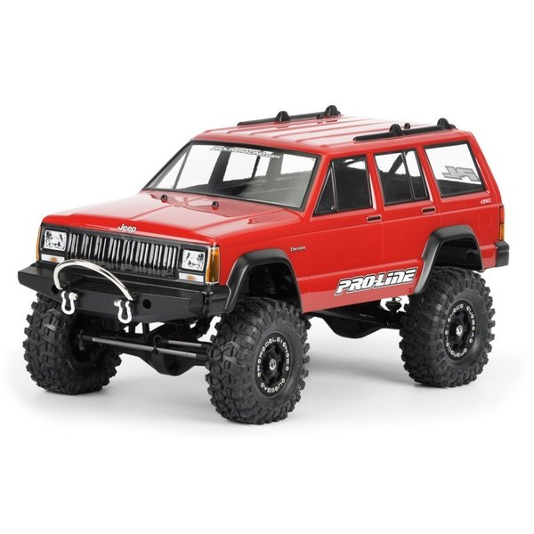 Pro-Line 1992 Jeep? Cherokee クリア ボディ for 1:10 Scale Crawlers - PRO3321/00 mon-parts-ya