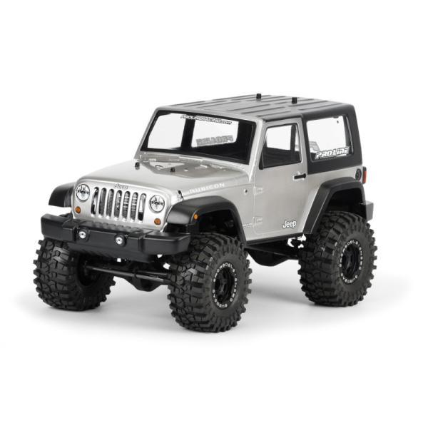 Pro-Line 2009 Jeep? Wrangler クリア ボディ for 1:10 Scale Crawlers - PRO3322/00 mon-parts-ya