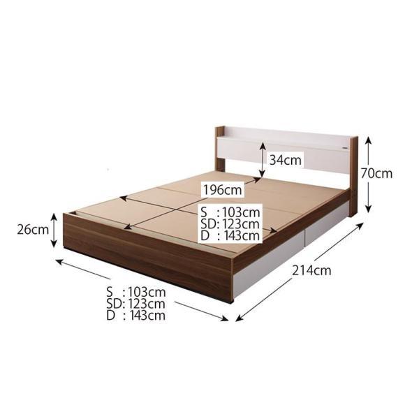 ベッド シングルベッド シングルサイズ 収納付きベッド マットレスつき セット マットレス付き 北欧 人気 おしゃれ おすすめ|mon-tana|05