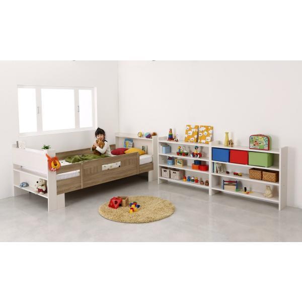 2段ベッド 二段ベッド こども用ベッド 2段ベット 北欧 シンプル おしゃれ ローベッド ロータイプ 人気 フレームのみ 組立設置付き|mon-tana|04