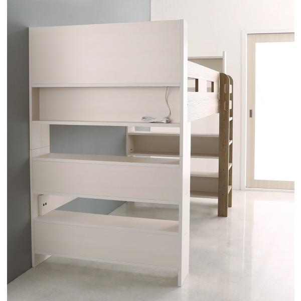 2段ベッド 二段ベッド こども用ベッド 2段ベット 北欧 シンプル おしゃれ ローベッド ロータイプ 人気 フレームのみ 組立設置付き|mon-tana|05