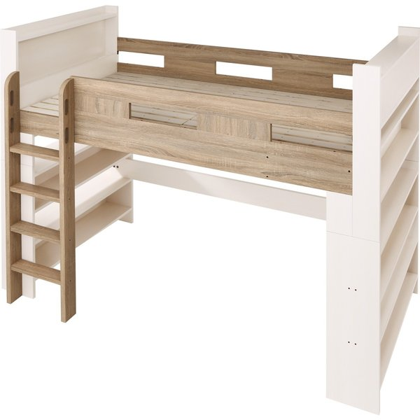 2段ベッド 二段ベッド こども用ベッド 2段ベット 北欧 シンプル おしゃれ ローベッド ロータイプ 人気 フレームのみ 組立設置付き|mon-tana|08