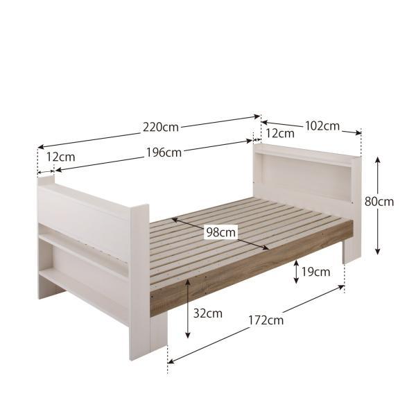 2段ベッド 二段ベッド こども用ベッド 2段ベット 北欧 シンプル おしゃれ ローベッド ロータイプ 人気 フレームのみ 組立設置付き|mon-tana|10