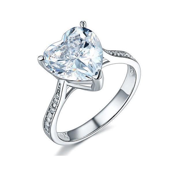 ハートシェイプ 指輪 リング ハート型 婚約指輪 ハート型 かわいい おすすめ 人気|monacofashion